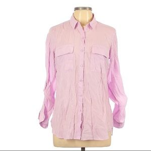🆕 Express Button Down Gorgeous Lilac Shirt • M